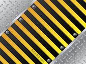 Steel plate background — Stock Vector