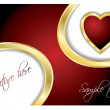 Vector de stock : Valentine card 12