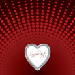 Valentine card 15 — Vector de stock #2885844