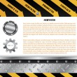 Royalty-Free Stock Vector Image: Construction web template
