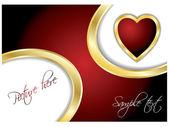 Valentine card 12 — Stock Vector