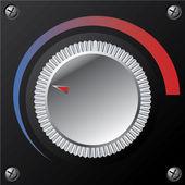 新的音量旋钮 — 图库矢量图片