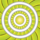Green twirl — Stock Vector