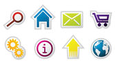 Web icon set — Stockvektor