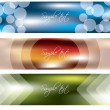 Banners with cool effects — Stock Vector #3485243