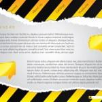 strappato il disegno della costruzione sito Web — Vettoriale Stock