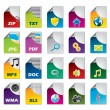 File icon set — Stock Vector #3756450