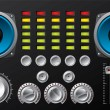 ������, ������: Amplifier with controls and equalizer