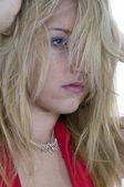 Crazy hår — Stockfoto
