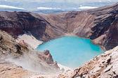 Im krater des vulkans — Stockfoto