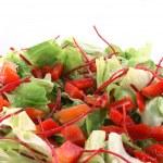 Healthy green salad — Stock Photo