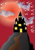 Castle — Stockvektor