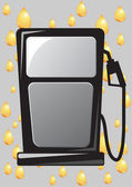 Icono de la boquilla de la bomba de gas — Foto de Stock