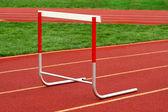 Pista de obstáculo — Fotografia Stock