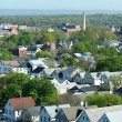 Neighborhood from above — Stock Photo