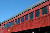 Oude trein personenauto — Stockfoto