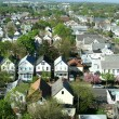 Stock Photo: Neighborhood from above