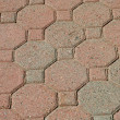 Royalty-Free Stock Photo: Brick pavers background texture
