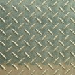 Aluminum diamondplate background — Stock Photo