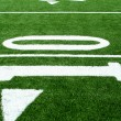 Astro turf football field — Stock Photo #3895507