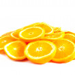 Orange rings — Stock Photo