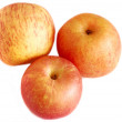 Ripe appetizing  apples — Stock Photo