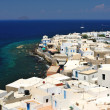 Picturesque Greek town of Mandraki — Stock Photo