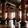 Stock Photo: Architecture interior of classic temple