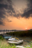 Discard boats — Stock Photo