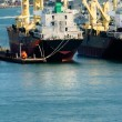 Stock Photo: Industrial freighter