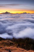 Dramatic landscape of clouds — Stock Photo
