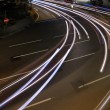 Car light trace — Stock Photo