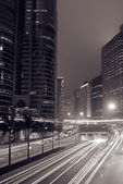 Modern city night — Stock Photo