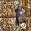 Rusty metallic door — Stock Photo