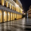 Macao landmark - Senado Square — Stock Photo