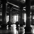 Stock Photo: Traditional Chinese temple interior