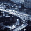 Cityscape of interchange — Stock Photo