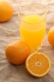 Succo d'arancia — Foto Stock