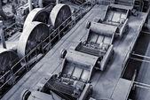 Discard factory interior — Stock Photo
