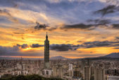 Taipei cityscape — Stock Photo