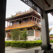 Chinese temple and corridor — Stock Photo #3600716