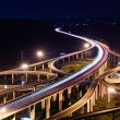Freeway in night — Stock Photo