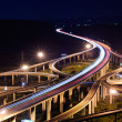 Stock Photo: Freeway in night