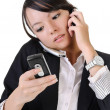 Busy business woman — Stock Photo #3664202