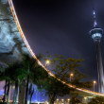Modern city night — Stock Photo #3747554