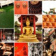 Stock Photo: Chinese temple collection