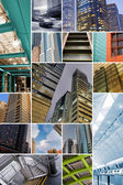 Koncept moderního města — Stock fotografie