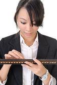 Chinese business woman — Stock Photo