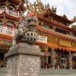Color building of classic religious temple of China — Stock Photo #3780816