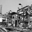 Stock Photo: Discard old industrial factory